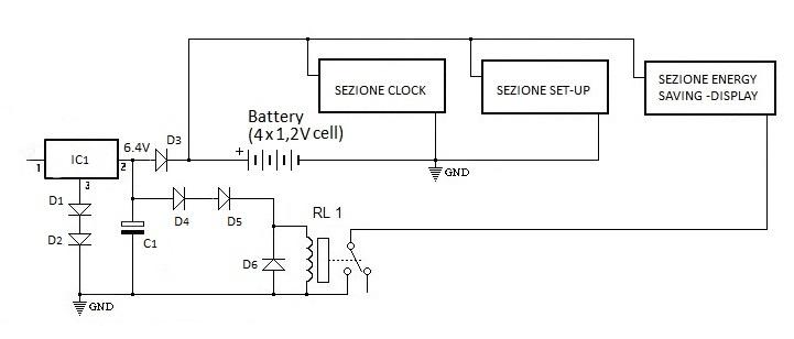 Schema Elettrico Ups Riello : Sezione altri circuiti batteria di back up