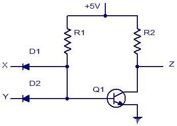 Sezione esperimenti le porte logiche circuiti equivalenti for Porte nand transistor